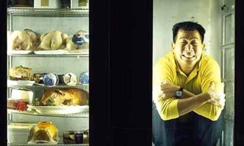 Грабитель прятался от полиции в холодильнике