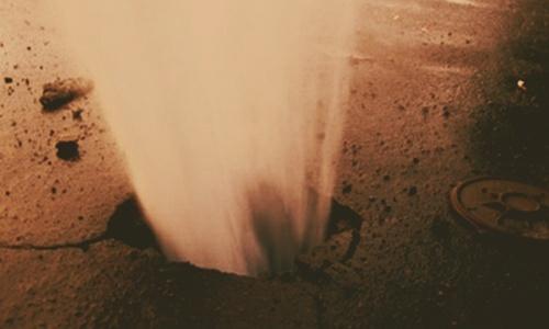 В Симферополе произошла авария высокой степени сложности на водопроводе