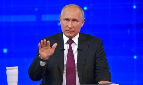 Ожидается, что Путин объявит о помощи Крыму на прямой линии
