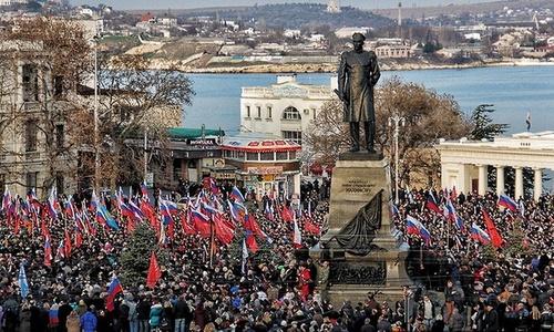 В Севастополе назовут улицу в честь Русской весны?