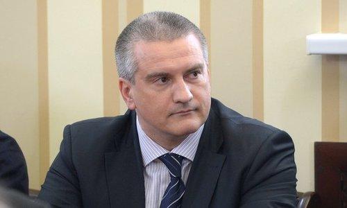 Аксенов назвал водную блокаду Крыма гостерроризмом