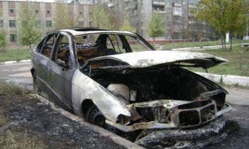 В ДТП сгорел пассажир