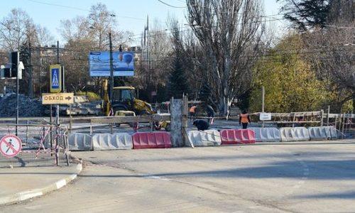 Ремонт улицы Гагарина может сильно затянуться