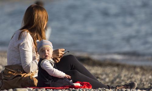 Россияне выбирают Крым для отдыха с детьми