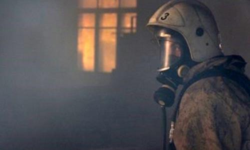 На пожаре в Красноперекопске эвакуировали 16 человек