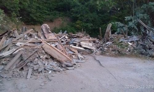 В историческом месте в Балаклаве нашли тонны мусора