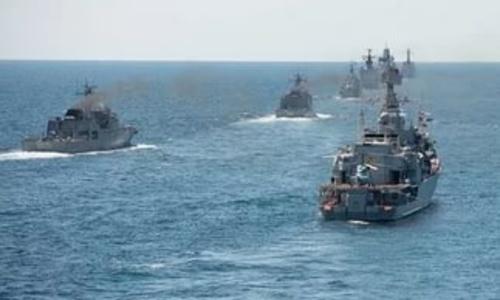 Военные сами минируют и разминируют Черное море