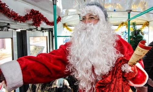 В Симферополе запустят троллейбус с Дедом Морозом