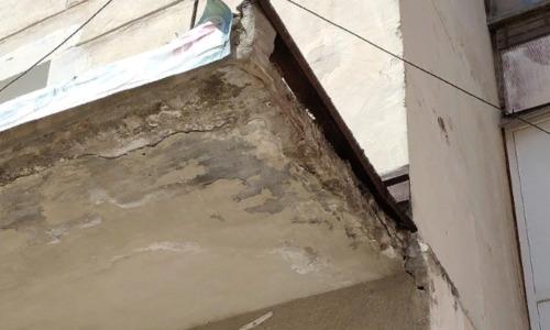 В жилом доме Севастополя может рухнуть балкон