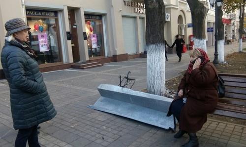 С неба на крымчан начали падать куски железа