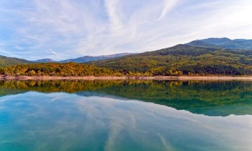 Крымские водохранилища наполовину пусты