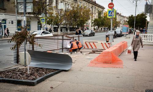 Главную улицу Севастополя закроют на две недели