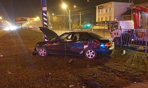 За ночь в Симферополе произошло два ДТП, погиб человек