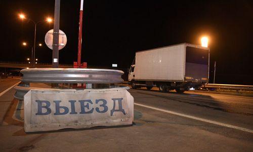 Через Крымский мост не пропустили за сутки 33 машины