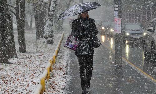 В ближайшие два дня Крым ожидают снегопады, переходящие в дождь