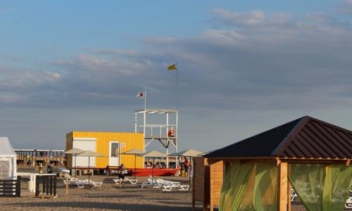 В Новофедоровке открыли новый пляж и набережную