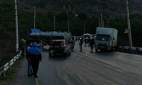 В несколько ДТП возле Партенита попали 8 автомобилей