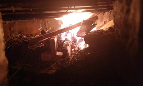 На пожаре в квартире в Щелкино нашли тело