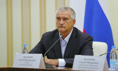 За подрыв газопровода в Крыму Сергей Аксенов обещал ответ