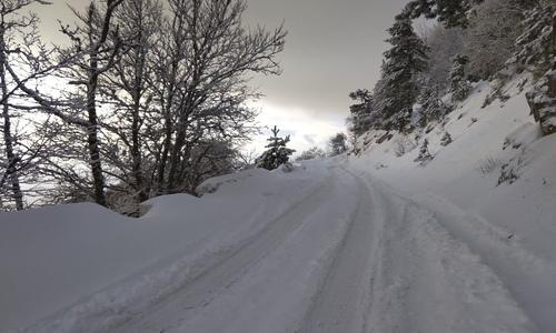 На Ай-Петри прогнозируют снежные обвалы